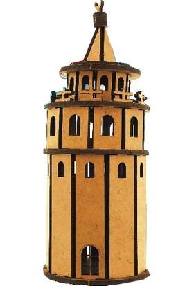 Alsa Galata Kulesi Ahşap Maket