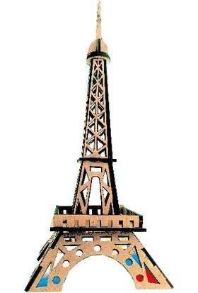 Alsa Eyfel Kulesi Ahşap Maket