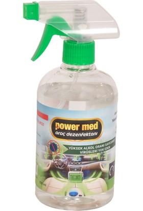 Power Med Araç İçi Dezenfektanı 500 ml 1 Adet