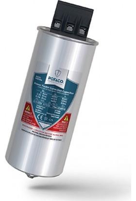 Pofaco 5,0 Kvar 400V Trifaze Silindir Tip Kondansatör