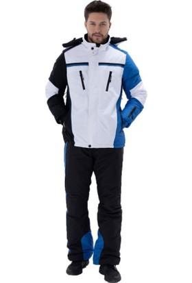 Exuma 2011017 Erkek Elyaflı Siyah Kayak Montu