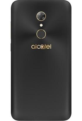 Herdem Alcatel A7 Kılıf Süper Silikon Şeffaf