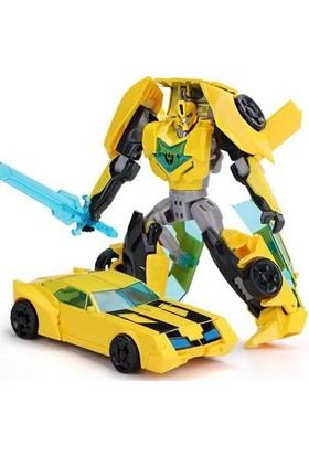 Gepet Toys Transformes Dönüşen Oyuncak Robot Araba Bumblebee