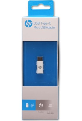 Hp Usb-C To Micro USB Adaptör Beyaz HP036GBWHT0TW