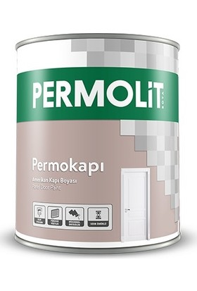 Permolit Permokapı Amerikan Kapı Boyası Beyaz 2,5 Lt
