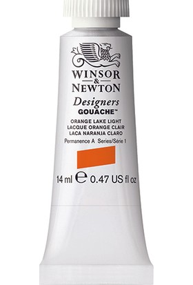 Winsor & Newton 453 Designers Guaj Boya 14 ml Orange Lake LT.S.1