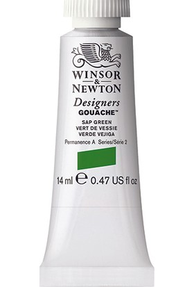 Winsor & Newton 599 Designers Guaj Boya 14 ml Sap Green S.2
