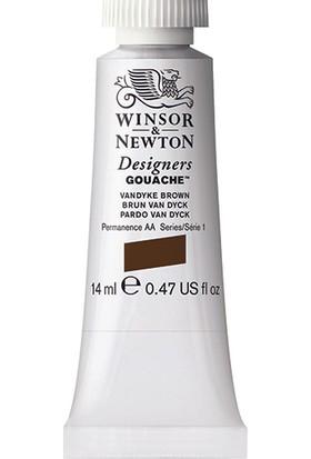 Winsor & Newton 676 Designers Guaj Boya 14 ml Vandyke Browinsor & Newton S.1