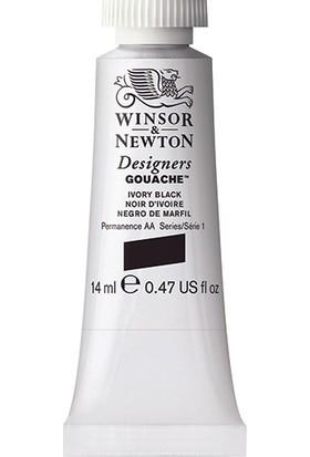 Winsor & Newton 331 Designers Guaj Boya 14 ml Ivory Black S.1