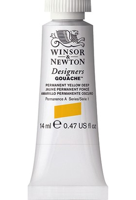 Winsor & Newton 508 Designers Guaj Boya 14 ml Perm.yellow Deep S.1