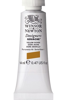 Winsor & Newton 744 Designers Guaj Boya 14 ml Yellow Ochre S.1