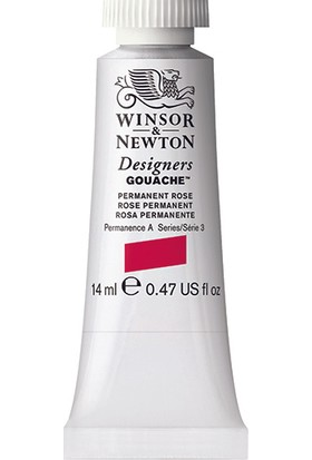 Winsor & Newton 502 Designers Guaj Boya 14 ml Permanent Rose S.3
