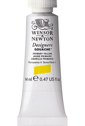 Winsor & Newton 527 Designers Guaj Boya 14 ml Primary Yellow S.1
