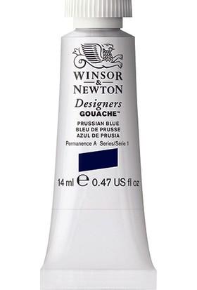 Winsor & Newton 538 Designers Guaj Boya 14 ml Prussian Blue S.1