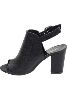 Arıcı Siyah Baskılı Ayakkabı