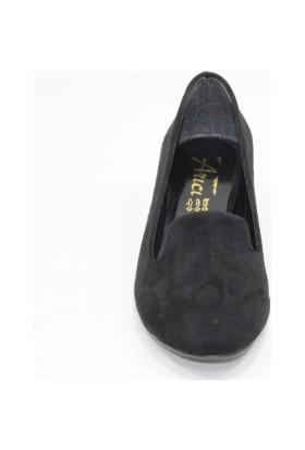 Arıcı Süet Alçak Topuk Ayakkabı