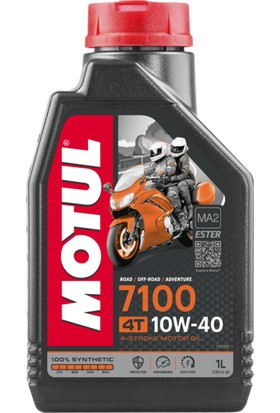 Motul 7100 10W40 4T 1 Litre Motosiklet Yağı ( Üretim Yılı : 2019 ve Öncesi )
