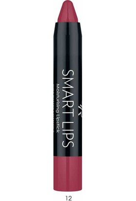 Golden Rose Nemlendiricili Kalem Ruj - Smart Lip Moisturising Lipstick No: 12