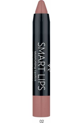 Golden Rose Nemlendiricili Kalem Ruj - Smart Lip Moisturising Lipstick No: 02