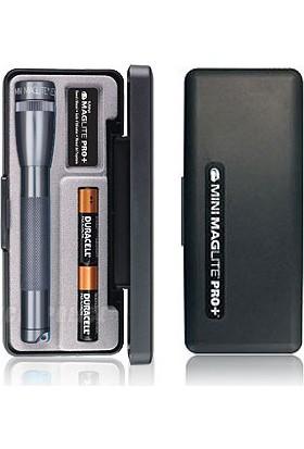 Maglite SP+P097Y 2AA Cell LED 245 Lümen Pro Mini Fener
