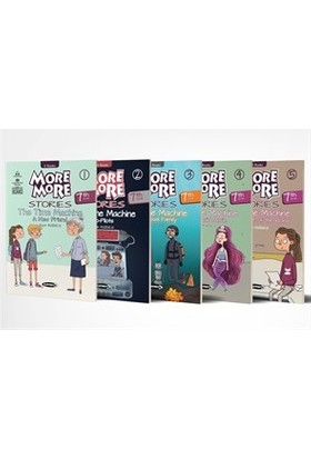 More & More English Hikaye Seti (5 Kitap) 7.Sınıf