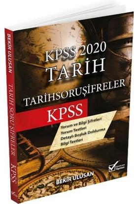 Kpss 2020 Tarih Soru Şifreler