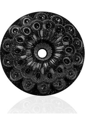Taç 6548 Özlem Döküm Kek Kalıbı Siyah 23 x 10 cm