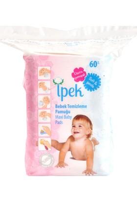 Ipek Bebek Temizleme Pamuğu 60'lı x 16 Paket