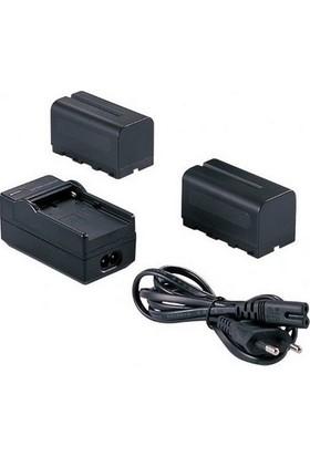 Sanger Sony NP-F750 Batarya ve Şarj Cihazı Seti