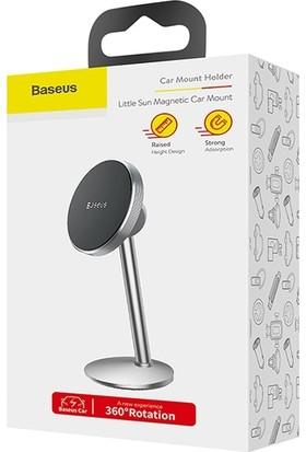 Baseus SUTY-0S Little Sun Manyetik 360 Doner Cep Telefonu Araç Tutucu