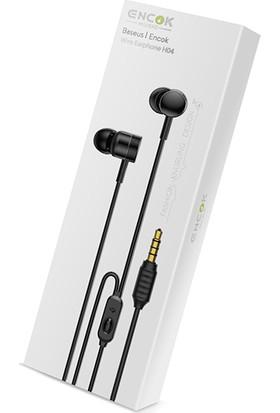 Baseus Encok Kablolu Kulakliçi Kulaklık H04 Siyah NGH04-01