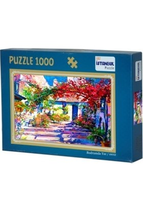 Adam Games Bodrumda Yaz 1000 Parça Puzzle 48 x 68 cm