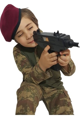 Deha Moda Nano Kombatlı Çocuk Asker Kıyafeti 9 Parça