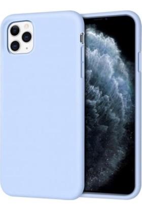 Mahzen Apple iPhone 11 Logosuz Lansman Kılıf Mavi