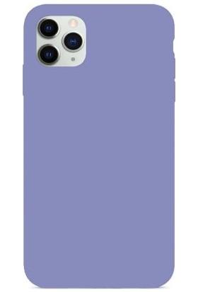 Mahzen Apple iPhone 11 Pro Logosuz Lansman Kılıf Lila