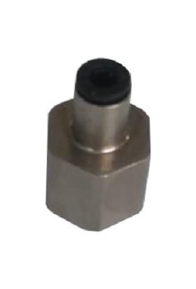 Ayazshop Pnömatik 1/4 4 mm Düz Dişi Rekor