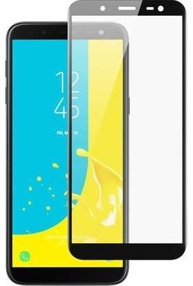 Concord Samsung Galaxy J6 Ekran Koruyucu 21D Kırılmaz Cam Tam Kaplamalı