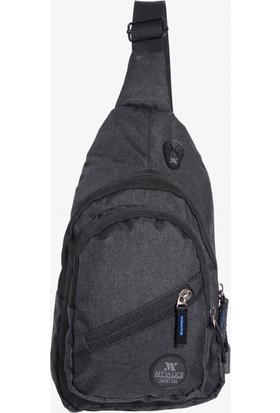 My Valice Smart Bag Usb'li Çapraz Göğüs Çantası 1502 Siyah
