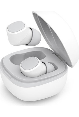 Snopy SN-TWS01 Magnus Beyaz Bluetooth TWS Mikrofonlu Kulaklık