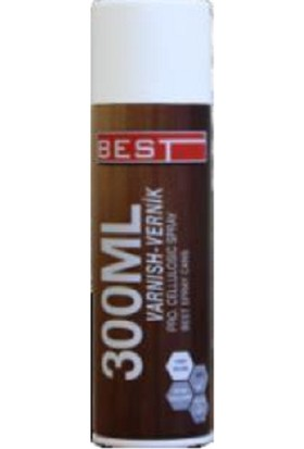 Best Spray Vernik Renksiz 300 ml