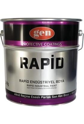Gen Rapid Endüstriyel Boya Mat Siyah 15 kg