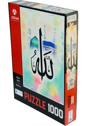 Adam Games Allah Lafzı 1000 Parça Puzzle 48 x 68 cm