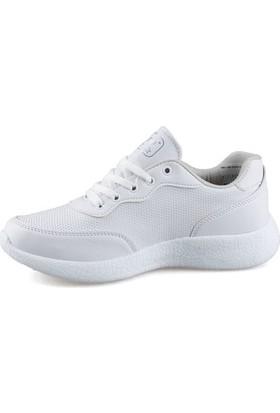 Udro AN0010 Kadın Yürüyüş Koşu Spor Ayakkabısı Beyaz 38