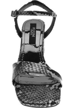 Kuum 1540 Kadın Topuklu Sandalet 38