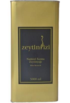 Zeytinizi Milas'dan Natürel Sızma Zeytinyağı Soğuk Sıkım 5 Lt