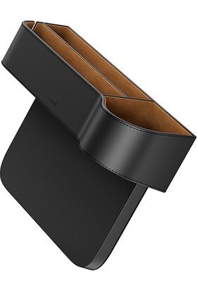 Baseus Elegant Car Storage Box Deri Koltuk Yanı Saklama Alanı Crcwh-01