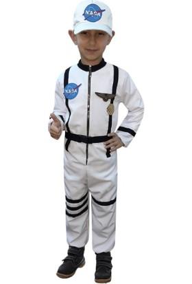 Kostümce Çocuk Astronot Kostümü