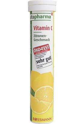 Altapharma Vitamin C İçeren Takviye Edici Gıda Efervesan Tablet