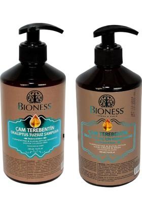Bioness Çam Terebentin Okaliptus Tuzsuz Şampuan - Saç Kremi