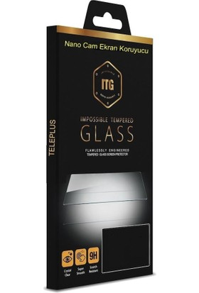 Teleplus Realme 5i Kılıf Lüks Silikon + Nano Ekran Koruyucu Şeffaf